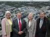 Vorstand der Europa Clubs v.l.n.r. Eveyln Lang, Klaus Kaiser, Ursula Renk, Jaques Elsen