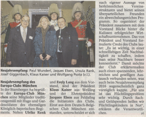 Münchner Merkur vom 20. Januar 2016