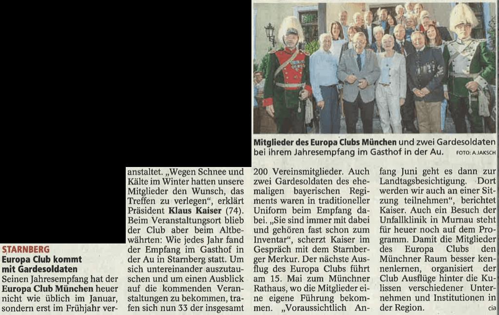Münchner Merkur vom 4. Mai 2018